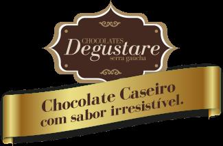 Chocolate Caseiro com sabor irresistível.